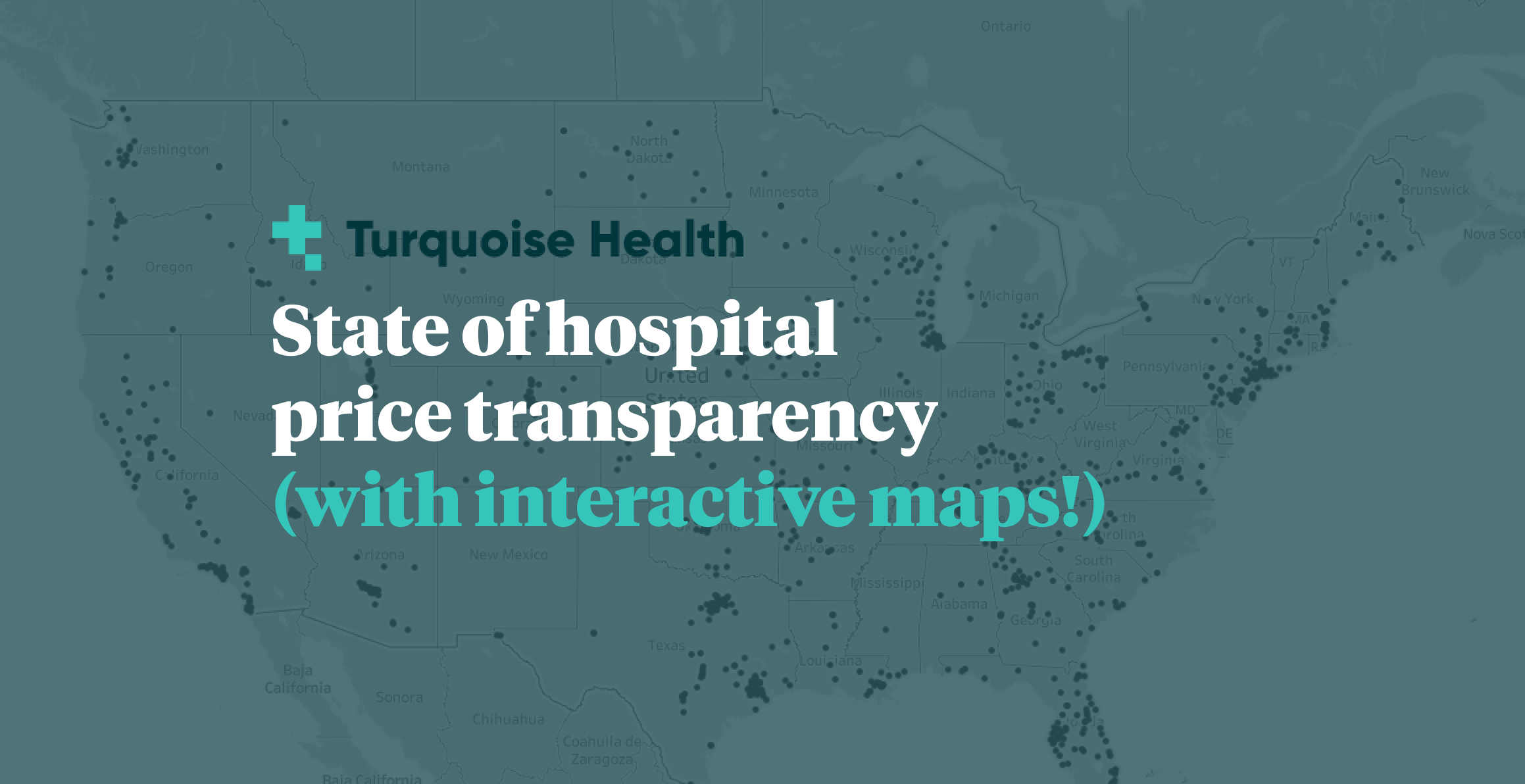State of hospital price transparency (with interactive maps!)